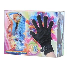 ファンタスティック・バイブレーション・グローブは手袋全体が振動するバイブ